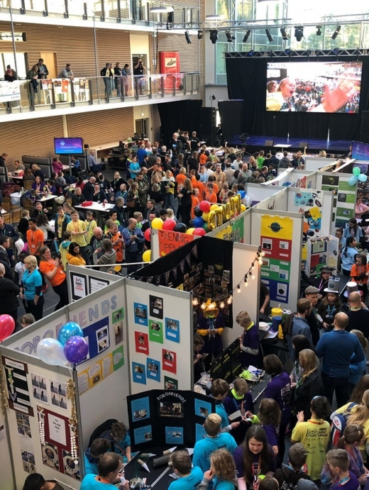 NMK Lego League 2018                                             Foto: Bypatrioten