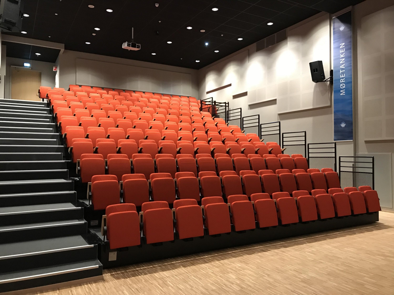 Nytt auditorium på NMK ferdigstilt